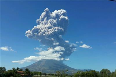 Volcán, Chaparrastique, El Salvador